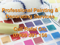 Professional Painting & Decorating (Interior & Exterior)