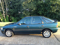 FORD ESCORT 1.6 FINESSE ONE OWNER SINCE 2002 VERY LOW MILEAGE 5 MONTHS MOT -WE CAN DELIVER TO YOU