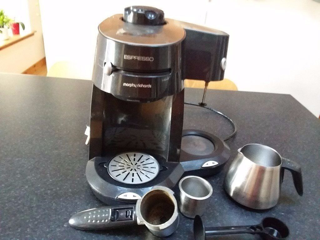 Morphy Richards Espresso Coffee Machine With Milk Frother And