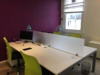 Desks to rent - Bills included - Access to kitchen - 24/7 access - Central Hove