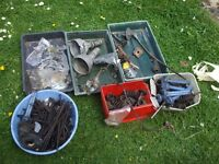 JOB LOT OF PARTS FOR ROVER V8 ENGINES