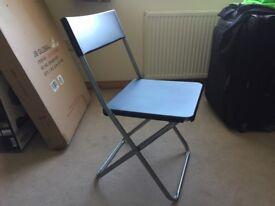 Four Ikea 'Jeff' chairs