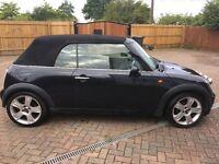 Mini Cooper Convertible Black 60000 miles