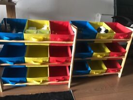 Colorful storage (great condition & cheap price)