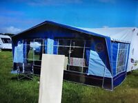 2012 Isabella Capri Lux Awning in Blue, size 962