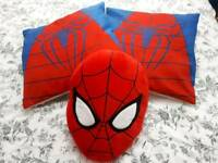 3 Spiderman Cushions