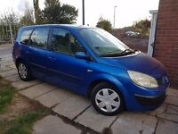 renault grand scenic 7 seater 7m mot new clutch fitted recently good condition good for big family