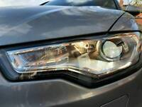Audi a6 c7 offside headlight 2012-2014