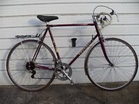 1970s PEUGEOT TOURISTE RACER - 24 1/2 INCH FRAME - Would Suit Someone 6 feet+
