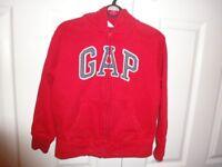 Gap Zip Through Hoody - Age 6/7 Years - IMMACULATE