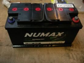 BRAND NEW NUMAX DC25MF 110 AMP LEISURE BATTERY