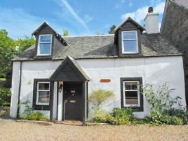 Strathyre Self Catering Holiday Cottage, 200 year old, 2 bedroom - 7 day (1week) let
