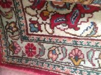 Beautiful hand knotted oriental TABRIZ carpet from Iran