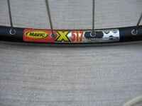 Mavic 517 wheel
