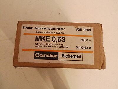 Condor MKE 0,63 Einbau-Motorschutzschalter MKE 0,4-0,63