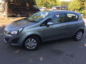 vauxhal corsa 2014 with one year mot no advisory full service history 2keys one owner from new