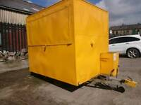 Refurbished catering trailer, New gas cert