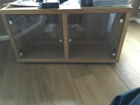 Glass Cabinet (TV Stand)