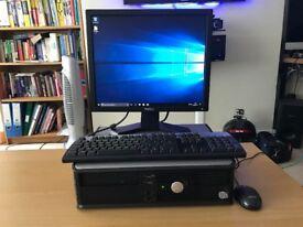 Dell Optiplex 360 with monitor