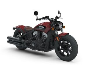 2018 Indian Motorcycles Scout Bobber INDIAN MOTORCYCLE RED