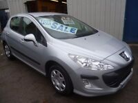 Peugeot 308 s 120 1598 cc 5 dr hatchback, clean tidy car,runs and drives well,low mileage,only 48 k