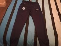 Nike England training pants