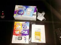 Nintendo Handheld Console 2DS with Pokemon Moon LIMITED EDITION With rare Guidbook