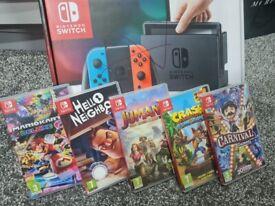 nintendo switch 5 game