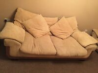 3 and 2 seater sofas for FREE must collect on or before sunday 16th oct