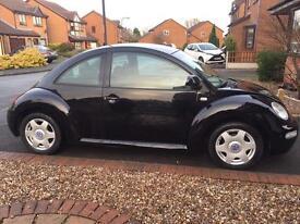 X reg Volkswagen Beetle 2.0L 12 months mot