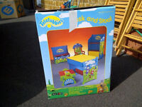 Teletubbies wooden table and chairs