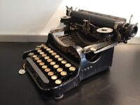 Smith Corona Antique Folding Portable Typewriter 1917
