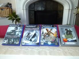 PS2 Medal of Honor Game Bundle