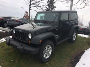 2013 Jeep Wrangler Sport 4WD 2-DOOR SPORT 4X4 6-SPEED MANUAL