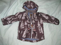 baby boy coat 12-18 months-like new from next