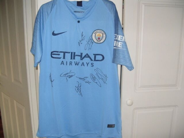 best website 3710d 583cc NEW Signed Manchester City SHIRT SIGNED BY Sergio Aguero Kompany etc | in  Knutsford, Cheshire | Gumtree
