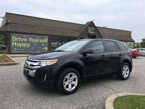2013 Ford Edge SEL / 3.5L / LEATHER / PANORAMIC MOONROOF
