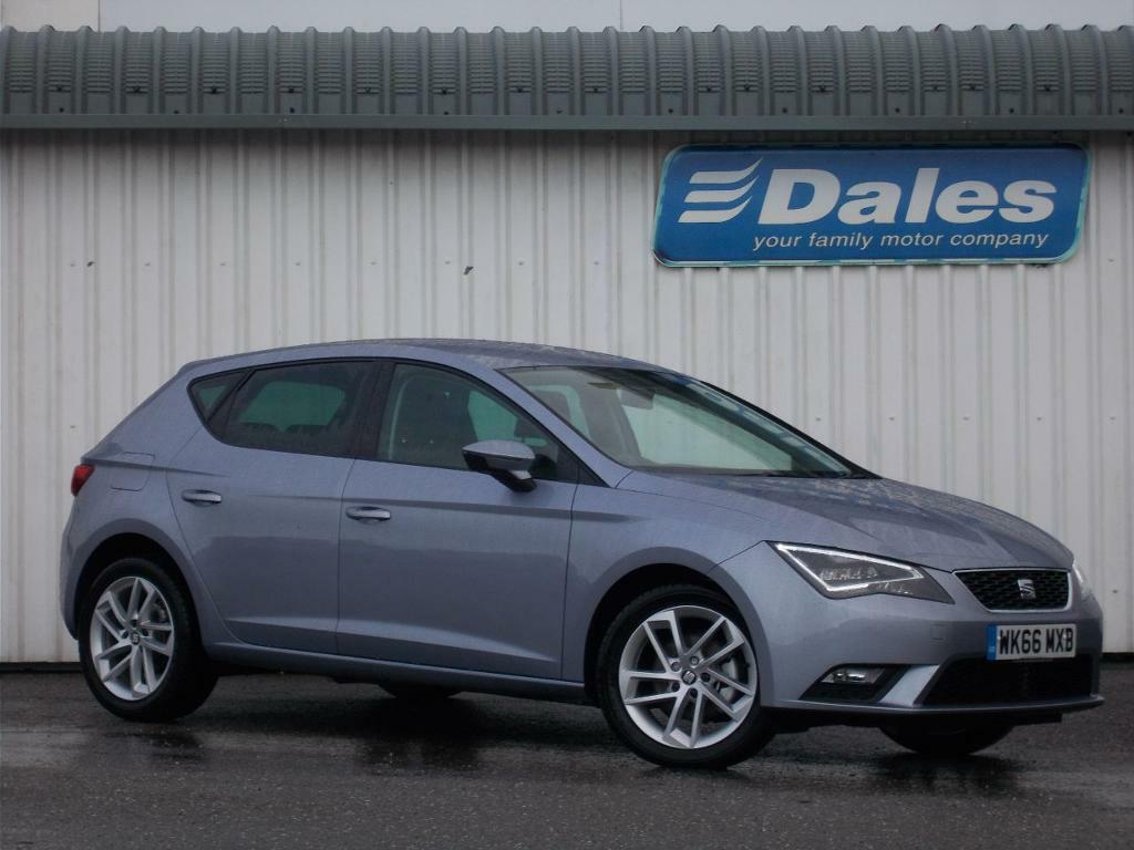 seat leon 1 6 tdi 110 se dynamic technology 5dr silver 2016 in newquay cornwall gumtree. Black Bedroom Furniture Sets. Home Design Ideas