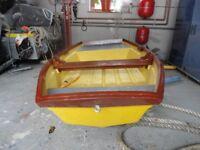 8ft Fibreglass Rowing Boat / Tender / Punt