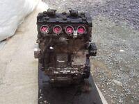 SUZUKI K1 GSXR 1000 ENGINE £450 Low mileage 2001/2 Tel 07870 516938 Can Deliver