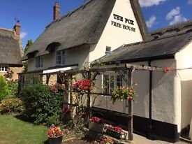 Part time chef for a traditional village pub
