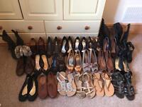 Bundle Job Lot Of shoes boots pumps 23 in total size 4/5