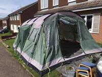 Outwell Montana 6 poles plus free tent inc bag