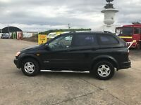2007 Black SSangyong Kyron s 4wd.. REDUCED