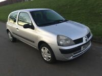 2005 RENAULT CLIO 1.2 # 3 DOOR # FULL YEARS M.O.T INSURANCE # FIESTA SEAT VW CORSA TOYOTA