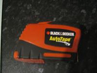 black & decker autotape
