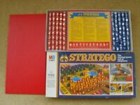 STRATEGO VINTAGE BOARD GAME 1982 MB IN A+EXCELLENT CONDITION, COMPLETE WITH INSTRUCTIONS