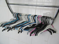 Bundle of Kiddie Clothes Coat Hangers - about 30