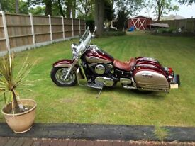 2003 Kawasaki VN1500 Fi Nomad Classic Tourer. Totally immaculate, very low miles