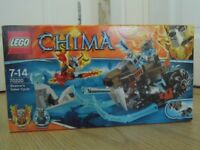 Lego Chima Strainor's Saber Cycle - Set 70220 - Fully Boxed - Immaculate Condition - Can Deliver